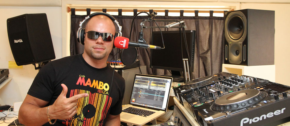 Ross E B Radio shows Live from Cafe Mambo ibiza